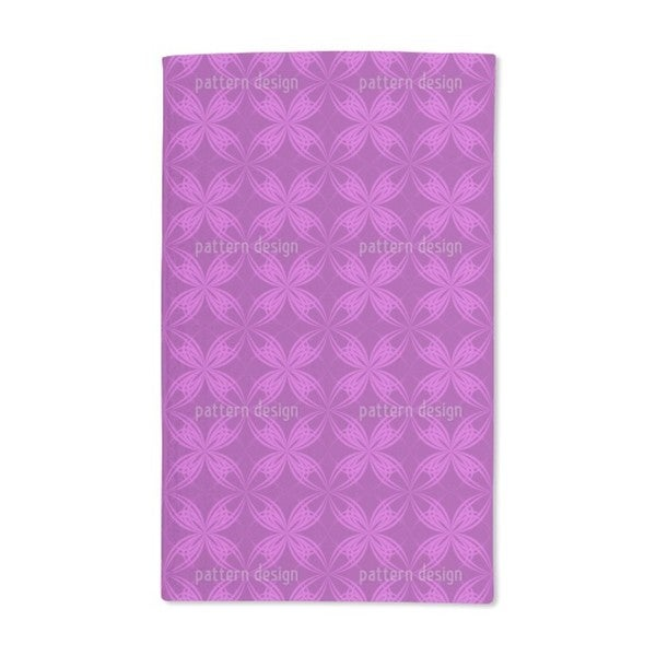Blossom Symmetry Hand Towel (Set of 2)