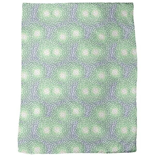 Monet Loved Springtime Fleece Blanket