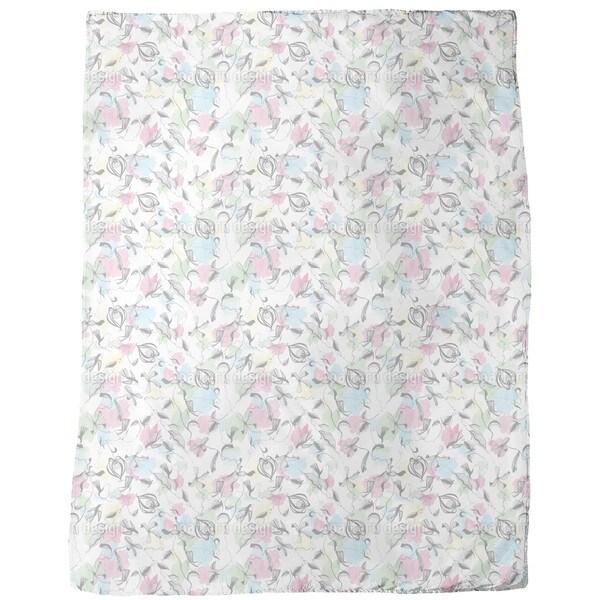 Bird Fantasy Fleece Blanket