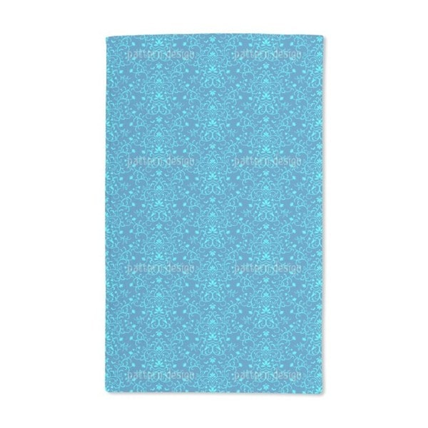 Delicate Ornamentic Hand Towel (Set of 2)