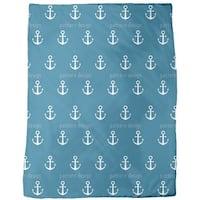 Anchor Ahoy Fleece Blanket