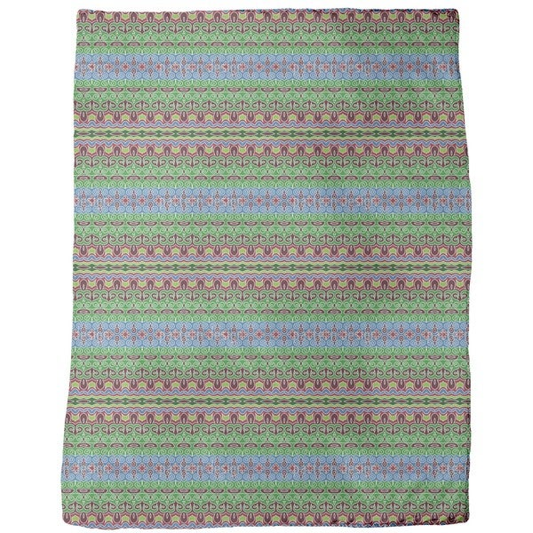 Oriental Nights Fleece Blanket