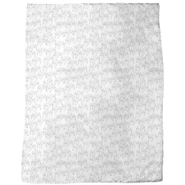 Needle Rain Fleece Blanket