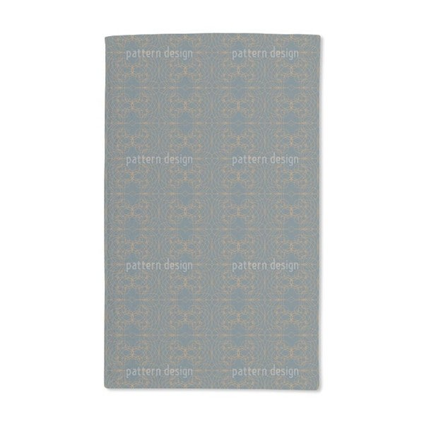 Baroque Lattice Hand Towel (Set of 2)