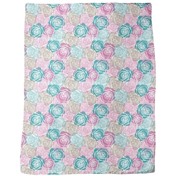 Dreams of Roses Fleece Blanket