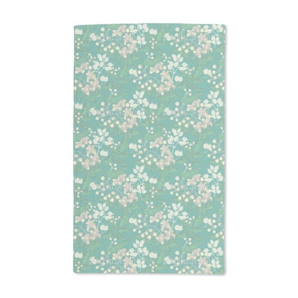 Bladder Campion and Clematis Hand Towel (Set of 2)