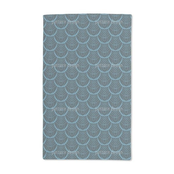 Peacock Feathers Deco Hand Towel (Set of 2)