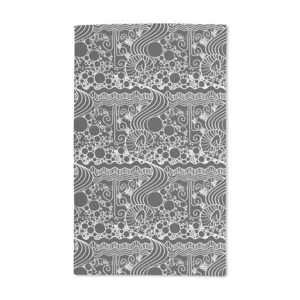 Art Nouveau Tangle Hand Towel (Set of 2)