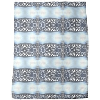 Zebra Light Fleece Blanket