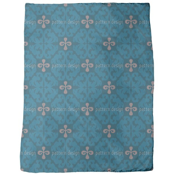 Paparock Blue Fleece Blanket