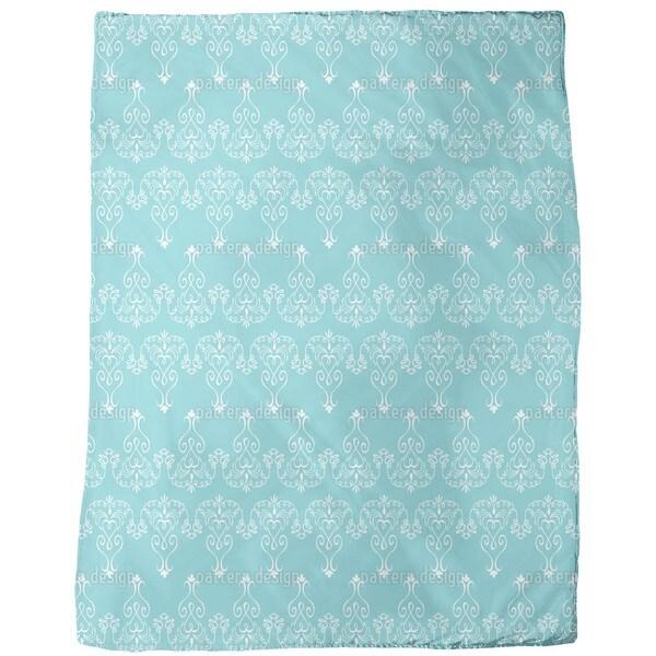 Madame Pompadour Fleece Blanket