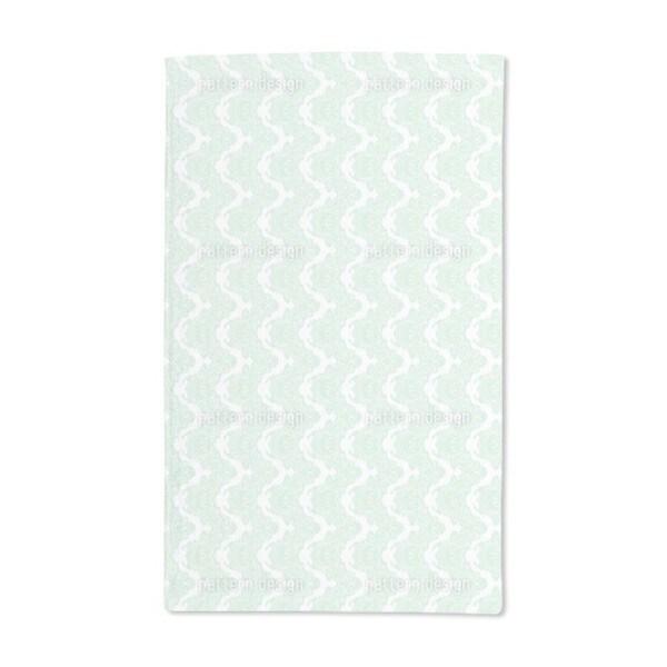 In Gentle Curves Hand Towel (Set of 2)