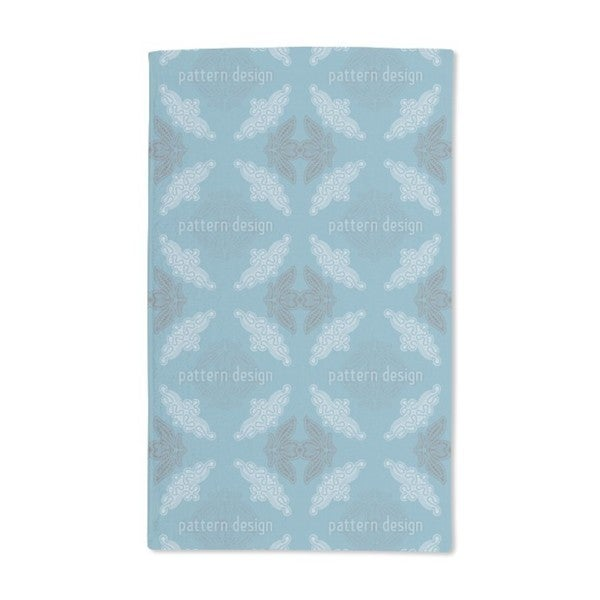Just Lace Teal Hand Towel (Set of 2)