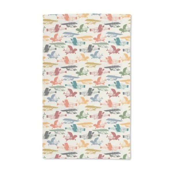 Historical Planes Hand Towel (Set of 2)