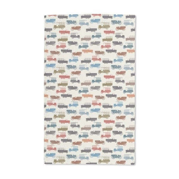 Vintage Cars Hand Towel (Set of 2)