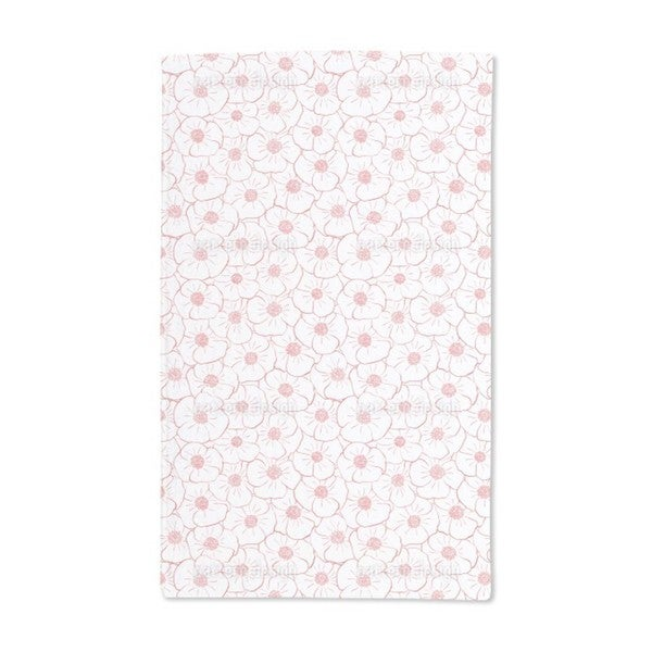 Poppy Flowers Everywhere Hand Towel (Set of 2)