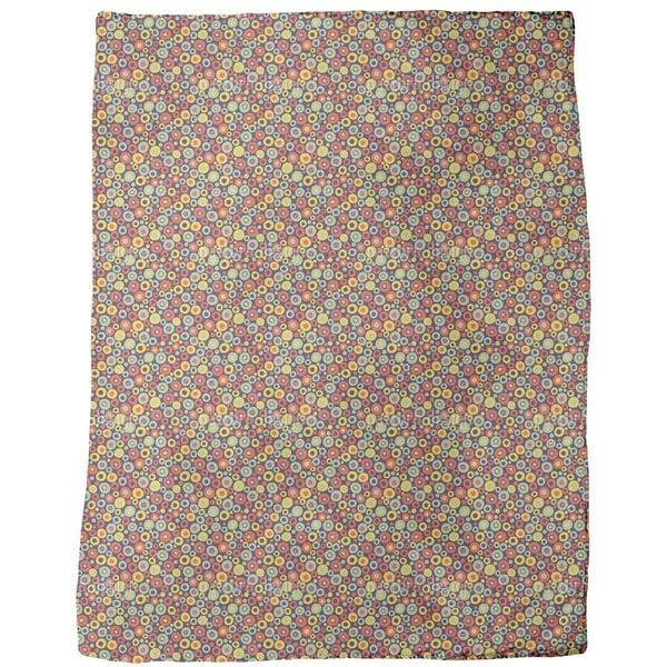 Searching For Dotty Fleece Blanket