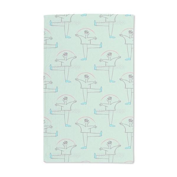 Danza Verde Hand Towel (Set of 2)