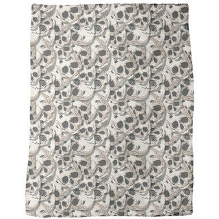 The Skulls of Kutna Hora Fleece Blanket
