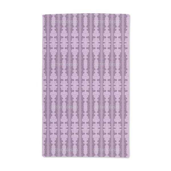 Elegant Pillars Hand Towel (Set of 2)
