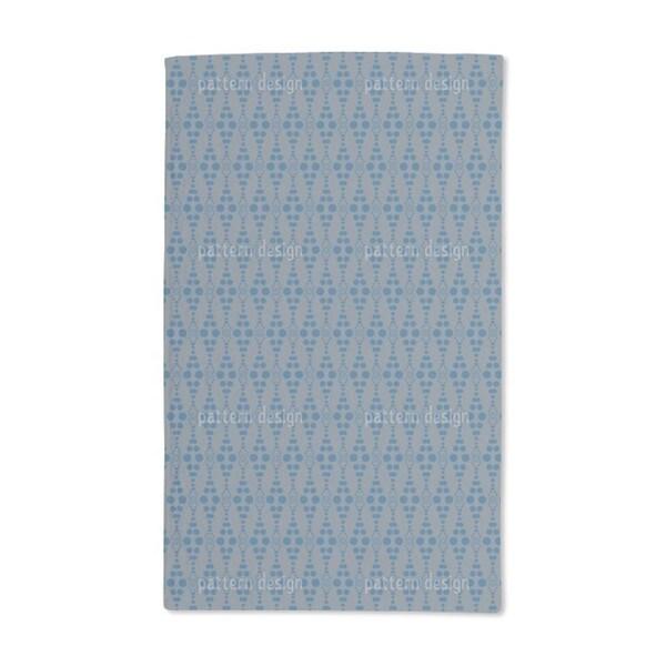 Dottore Blue Hand Towel (Set of 2)