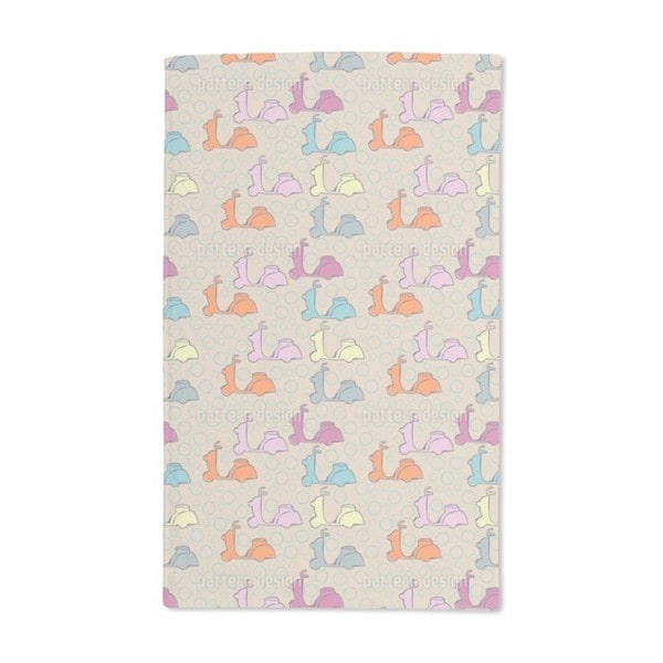 Scooter Hand Towel (Set of 2)