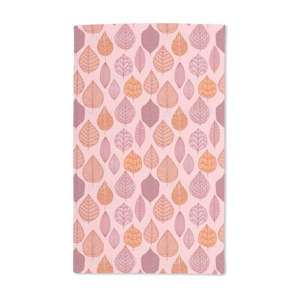Leaf Collection Hand Towel (Set of 2)