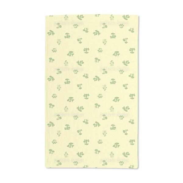 Mushroom Quest Hand Towel (Set of 2)