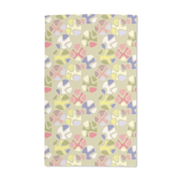 Candy Green Hand Towel (Set of 2)
