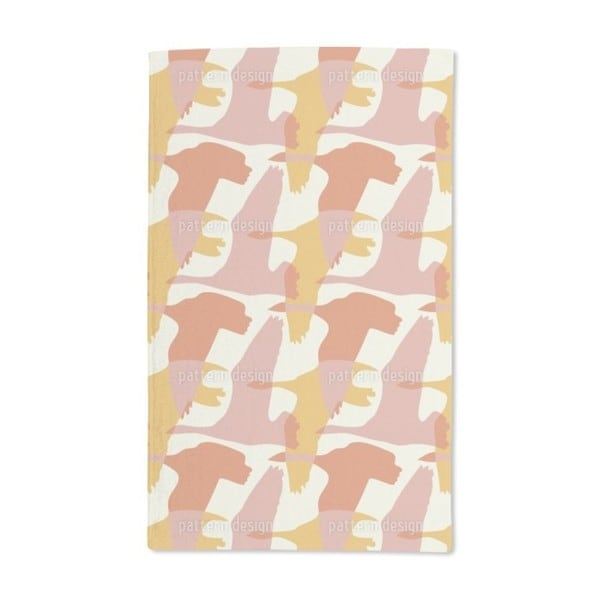 Flying Goose in the Sun Hand Towel (Set of 2)