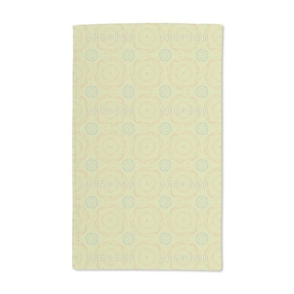 Echo Circles Hand Towel (Set of 2)