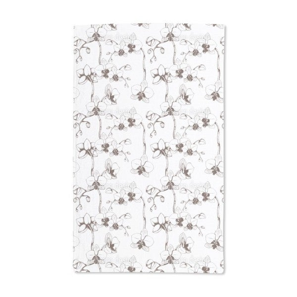 Orchid Bloom Hand Towel (Set of 2)
