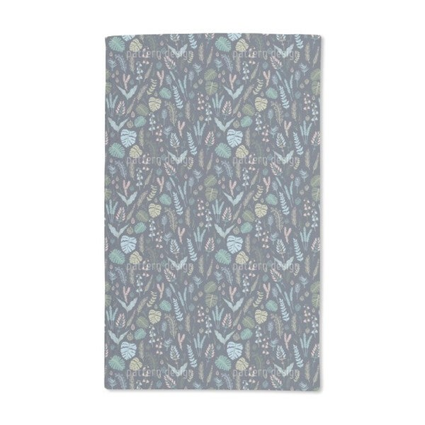 Night Forest Hand Towel (Set of 2)
