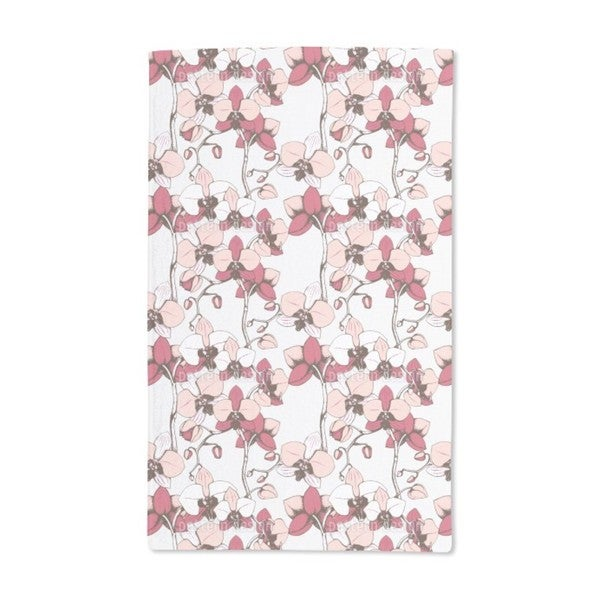 Exotic Orchid Hand Towel (Set of 2)