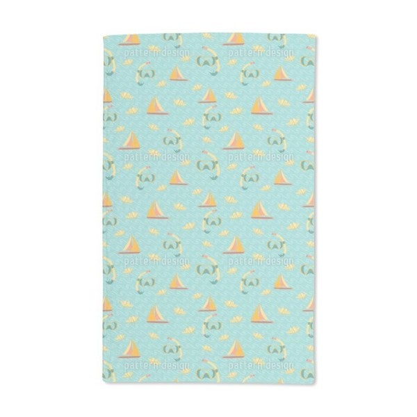 Ocean Fun Hand Towel (Set of 2)
