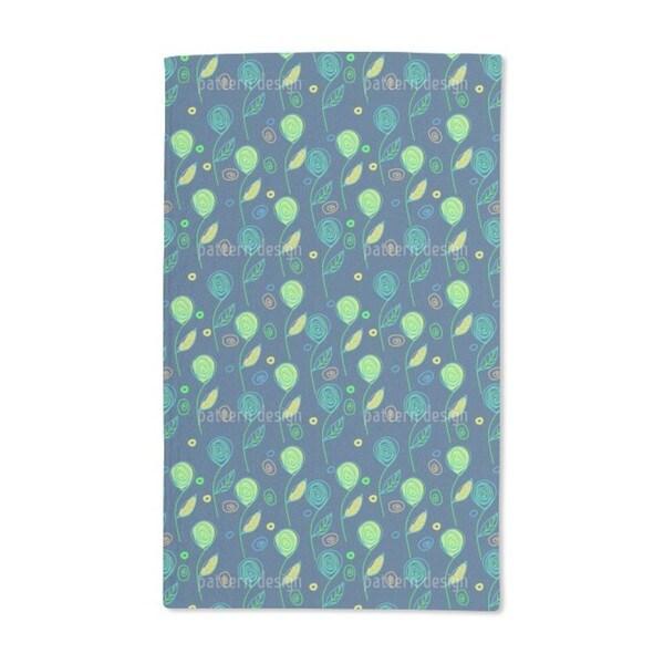 Fantasyflora Hand Towel (Set of 2)