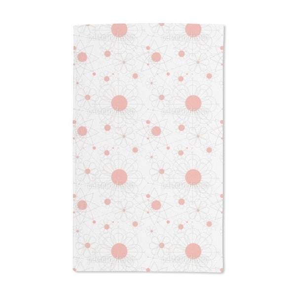 Construction Floral Hand Towel (Set of 2)