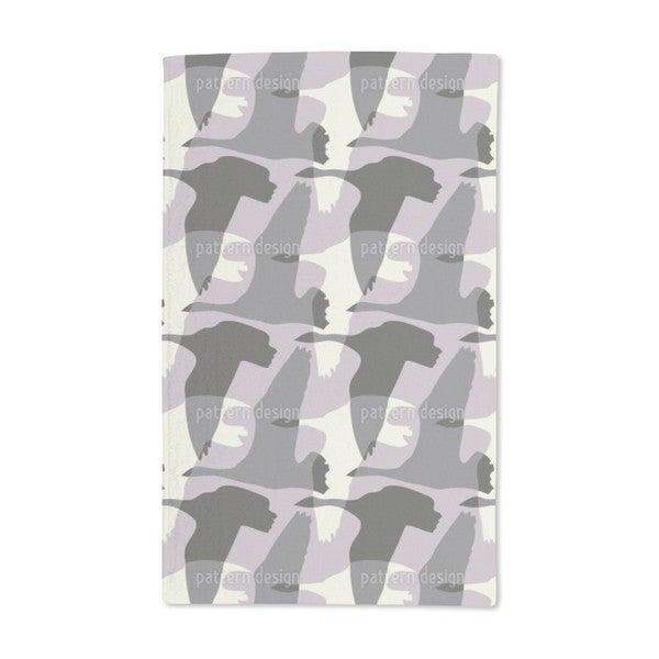 Flying Goose Vintage Hand Towel (Set of 2)