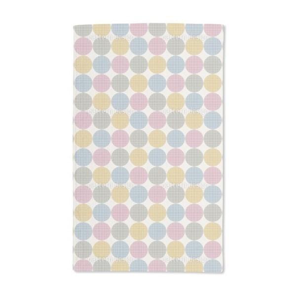 Retro Dots Hand Towel (Set of 2)