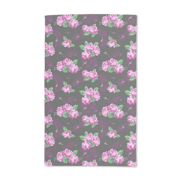 Nostalgic Rose Bouquet Hand Towel (Set of 2)