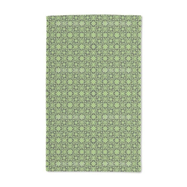 Green Farrago Hand Towel (Set of 2)