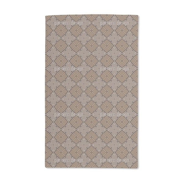 Checkerboard Hand Towel (Set of 2)