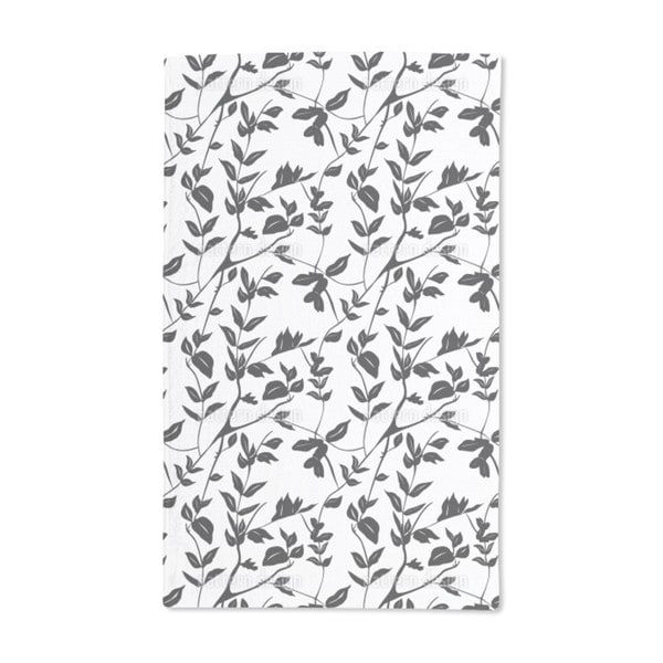 Leaves in the Shadow Hand Towel (Set of 2)