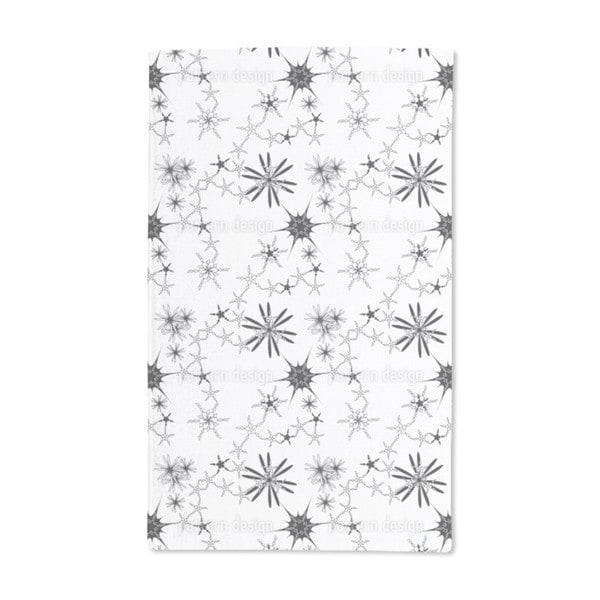 Skandiflor Bw Hand Towel (Set of 2)