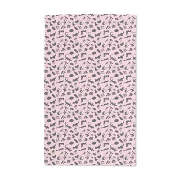 Small Fauna Hand Towel (Set of 2)