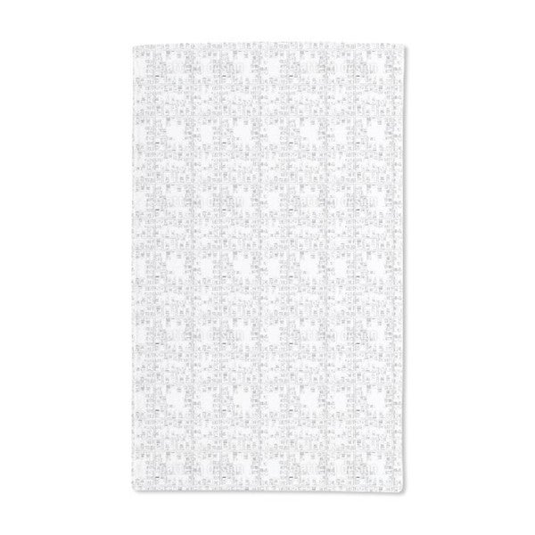 City Map Hand Towel (Set of 2)