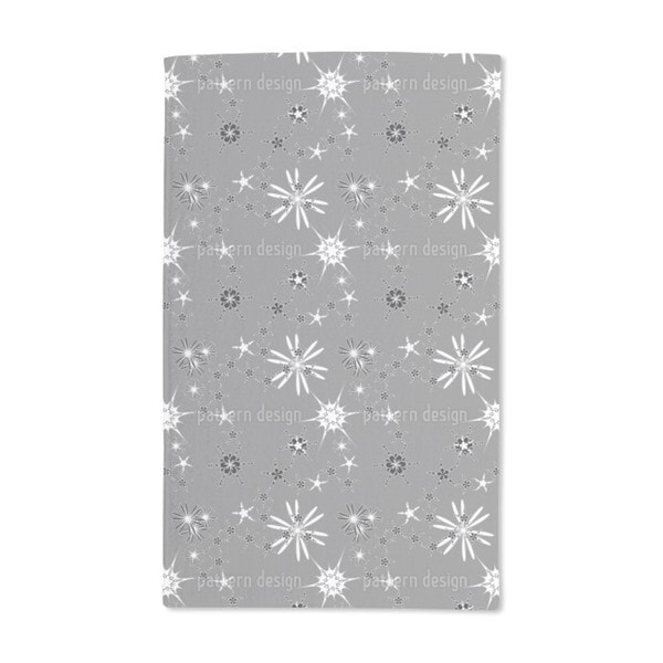 Skandiflor Grey Hand Towel (Set of 2)