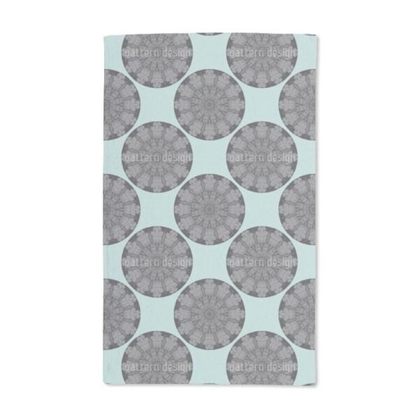 Gothic Circles Hand Towel (Set of 2)