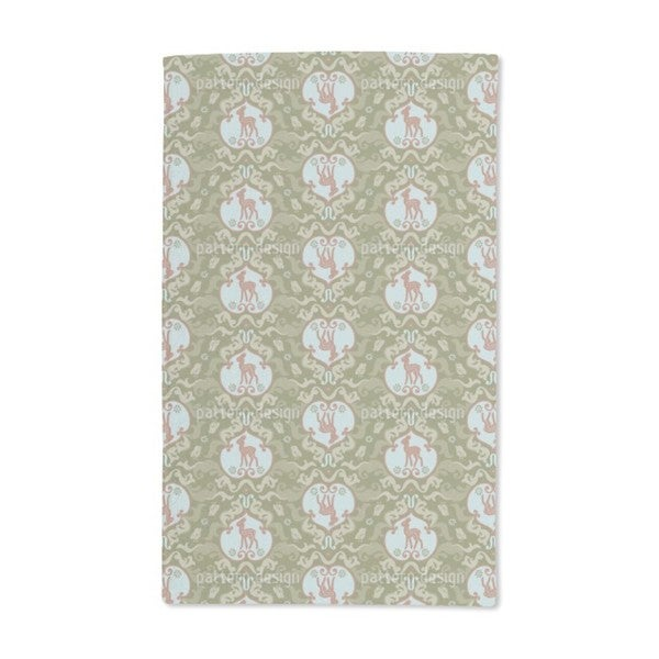 As the Birds Sang For the Fawn Hand Towel (Set of 2)