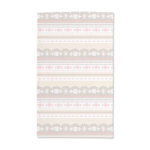 Little Rosy Soft Hand Towel (Set of 2)